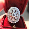2.23ctw Old European Cut Diamond Filigree Ring 16