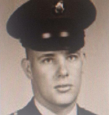 "Reinhardt ""Sonny"" Dannhaus, U.S. Army, Vietnam 1967-68, father to Dana Nathanson, who says: ""Son, Husband, Father, Grandfather, HERO - Thank you, Dad, for your service!"""