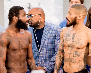 Boxing Broner vs. Theophane Jr. Welterweight Title