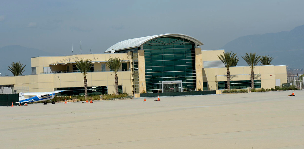 . Previously managed by Scot Spencer\'s business interests, the Million Air private and charter aircraft terminal has been taken over by the San Bernardino International Airport as seen March 28, 2013.  GABRIEL LUIS ACOSTA/STAFF PHOTOGRAPHER.