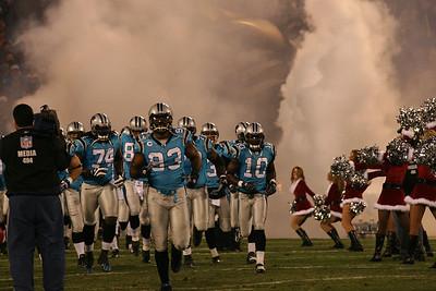Dallas Cowboys at Carolina Panthers December 22, 2007