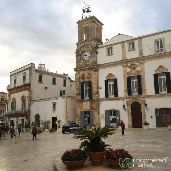 Martina Franca Square - Puglia, Italy