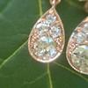 1.51ctw Diamond Mosaic OEC Dangle Earrings 15