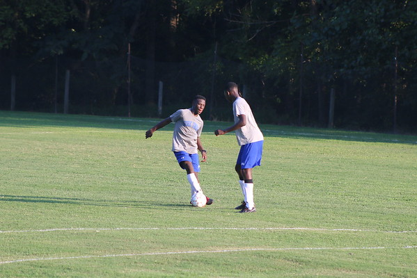 Prep Soccer Evening Practice - Aug 14