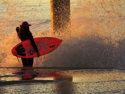 11/24/19 * DAILY SURFING PHOTOS * H.B. PIER