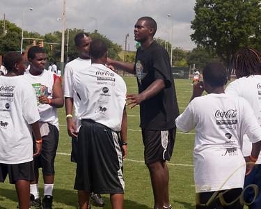 Bryan Thomas 2010 Football Camp