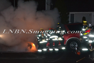 Massapequa F.D. Vehicle Fire 10-30-11