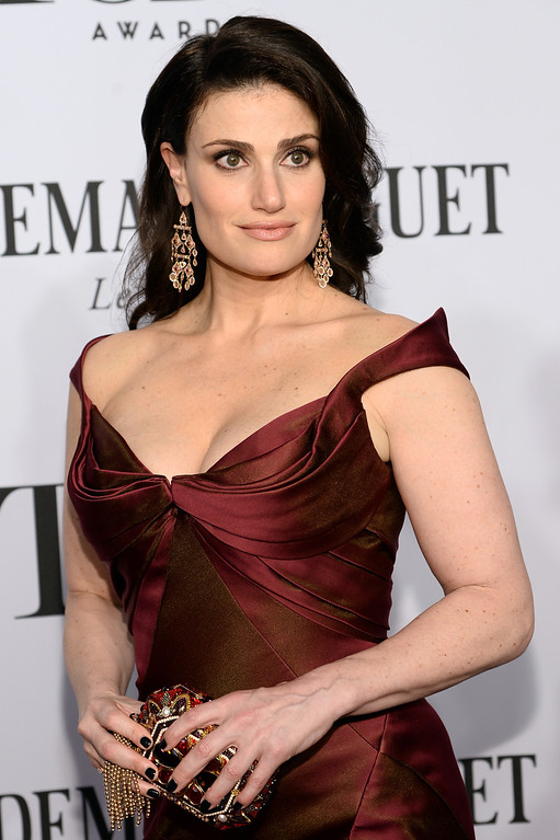 . Actress Idina Menzel attends the 68th Annual Tony Awards at Radio City Music Hall on June 8, 2014 in New York City.  (Photo by Dimitrios Kambouris/Getty Images for Tony Awards Productions)