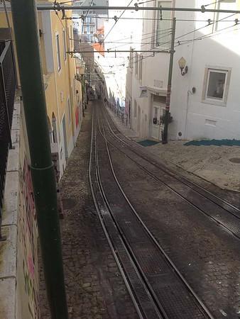 The Lavra Funicular, Lisbon [Vivienne]