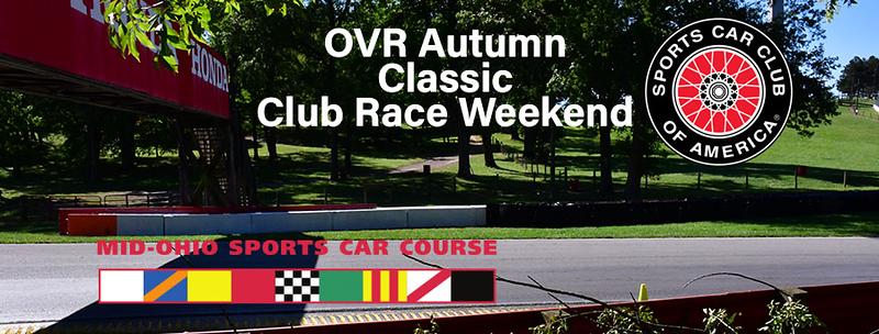 OVR Autumn Mid Ohio Regional  Oct 17-18 2020