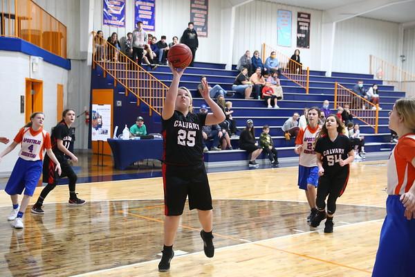 2021-01-26 Calvary Girls Basketball