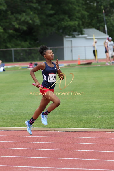 2017 AAU RegQual : Girls 4x400m Relay