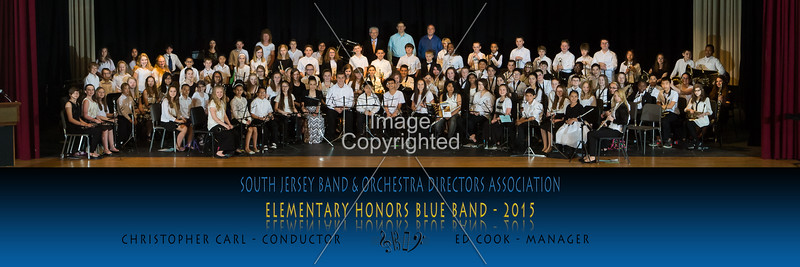 Elementary Honors Band 2015