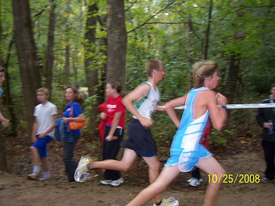 2008 Oct 25 Trinity Cross Country Meet in Charlotte