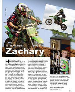 In the Headlight - Zachary
