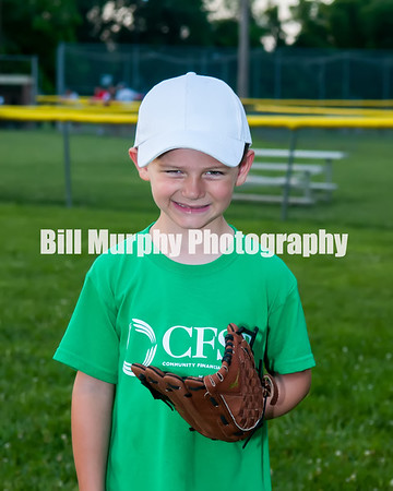 2016 3-4 Boys T-Ball  Green Team