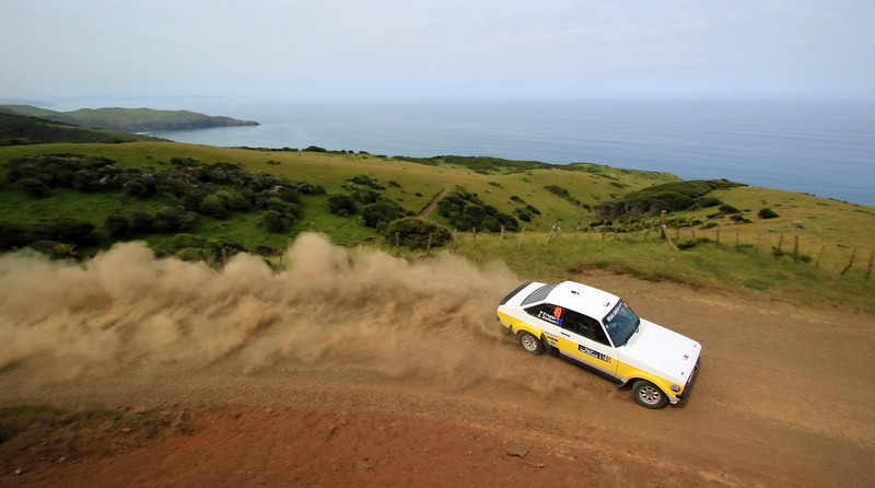 Paul Fraser, Ford Escort RS1800, SS2 Whaanga Coast 1.