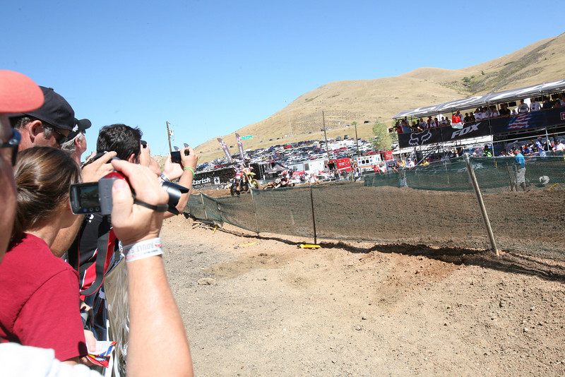 Cairoli was pushing Dungey hard, but Dungey never made a mistake.