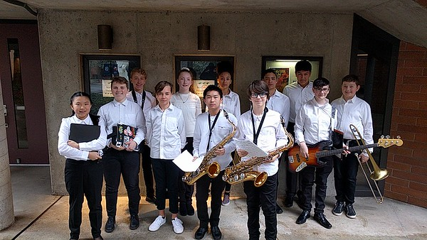 2019 MS Band at Bellevue Jazz Festival