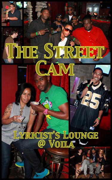The Street Cam: Lyricist's Lounge