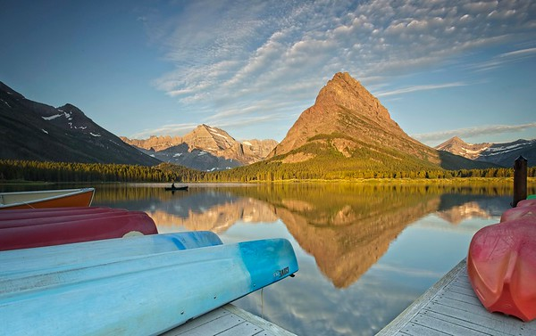 Swiftcurrent Lake Kayaks