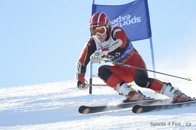 Giant Slalom, Men CAN - QC - MONT-SAINTE-ANNE 1/27/2013