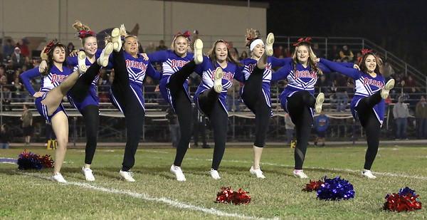 Football Cheer at Willows 11/18/2016