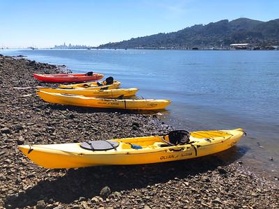 Sausalito Kayaking: Mar 16, 2019