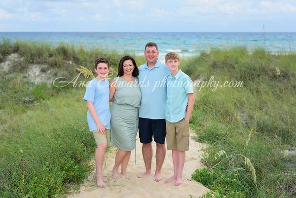 The Scheurer  family     Panama City Beach