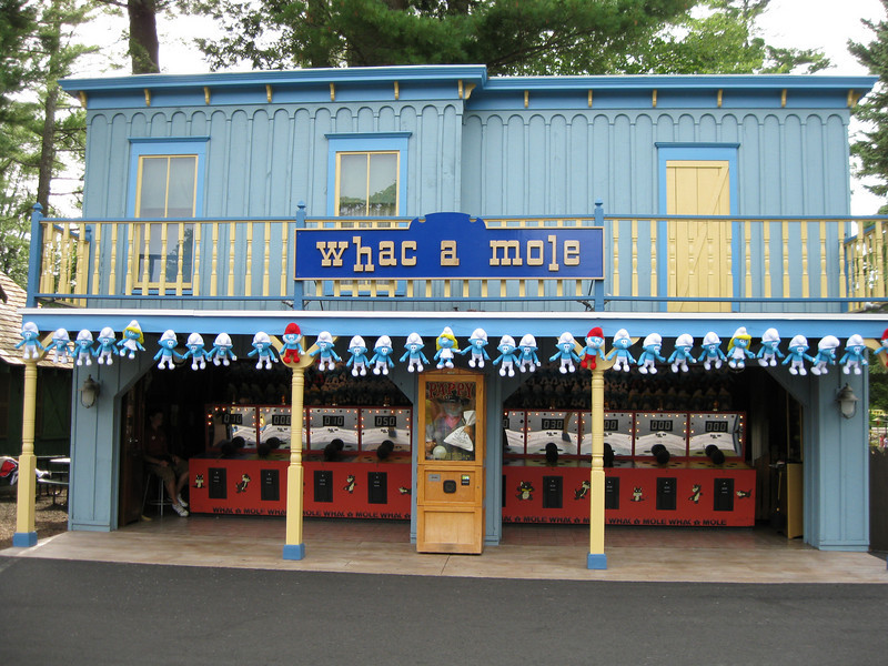 Whac A Mole's was repainted.