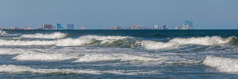 Looking North to Atlantic City