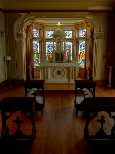 Chapel in an upstairs room of the Palace