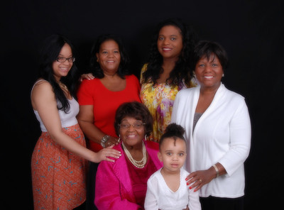 Five Generations of Woman