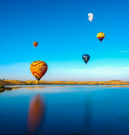 Balloon Festivals: Temecula and Albuquerque