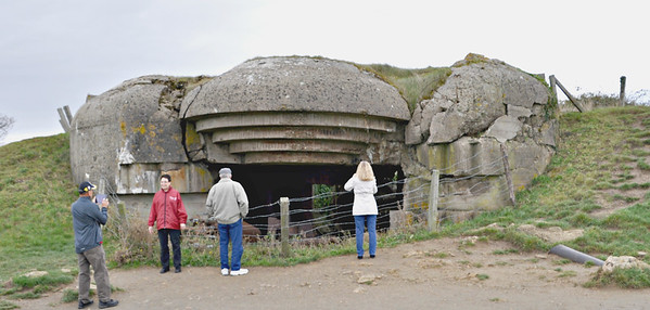 Normandy - German Gun Emplacements