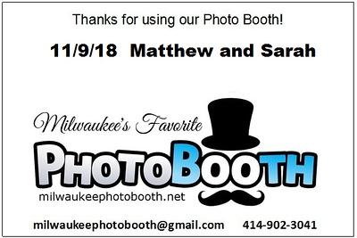 11/9/18 Matthew and Sarah