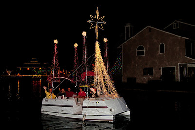 East Lake Boat Parade 2013