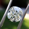 3.07ct Antique Cushion Cut Diamond GIA M VS2 19