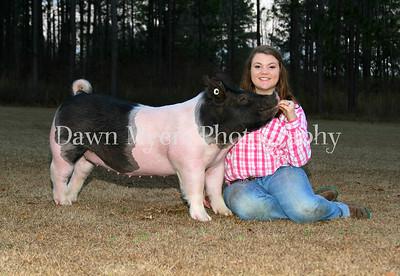 Mary Margaret & her Pig