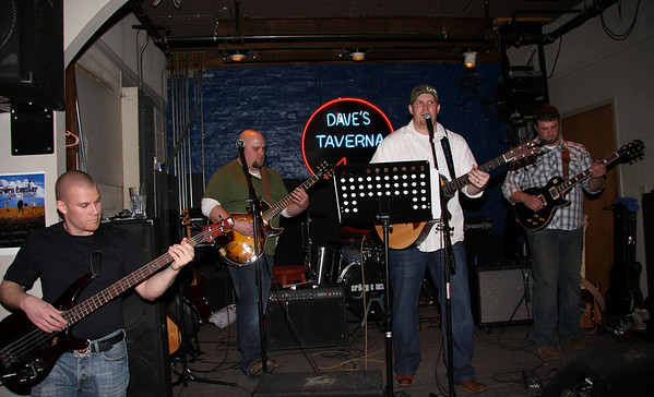 Crazy Chester at Dave's Taverna 2-13-10