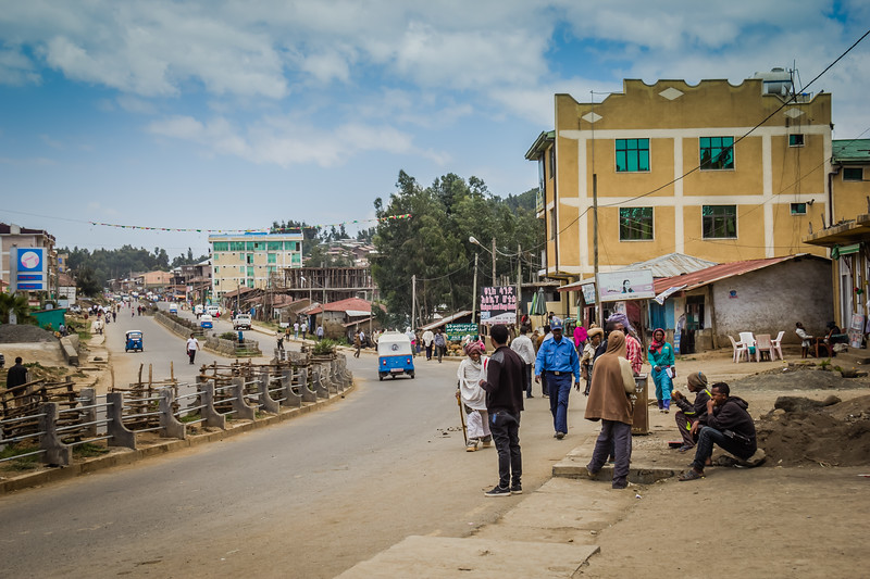 Debark Simien Mountains Ethiopia