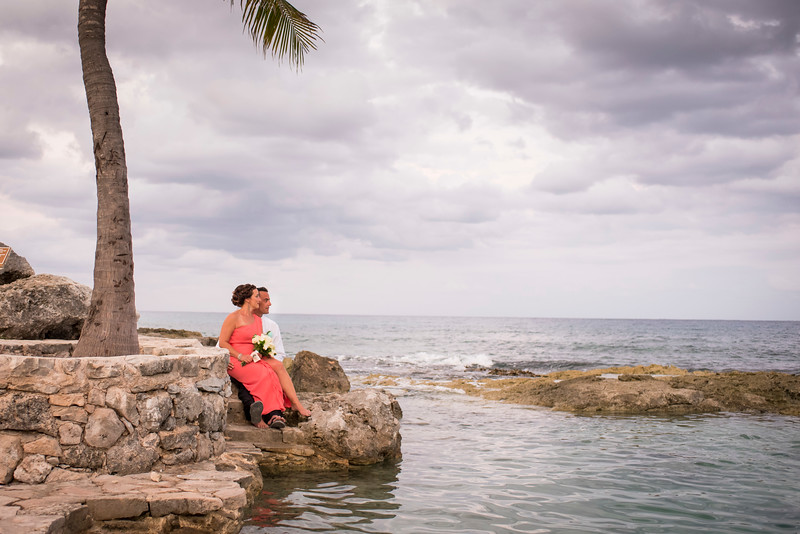 Jamie + Nick - Wedding - Dreams Resort, Puerto Aventuras