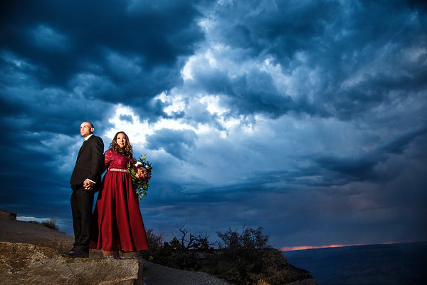 Jeannie and Richie | Shoshone Point | 10 Year Anniversary