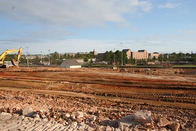 2012 Football Complex Construction