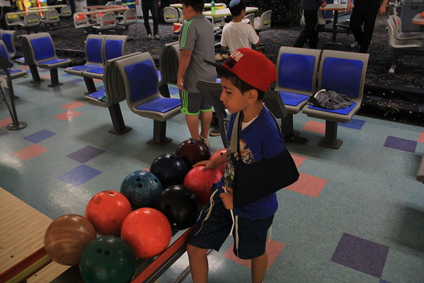 Bowling and Rollerskating