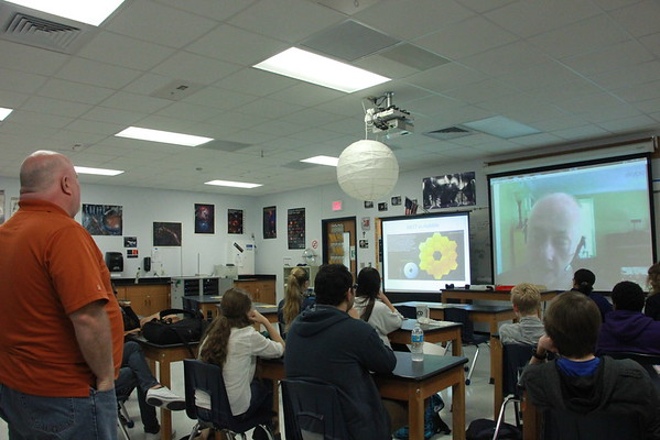 Skype with physicist