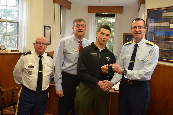 FUMA Ambassador Award is Presented to Cadet Graves-Marchand