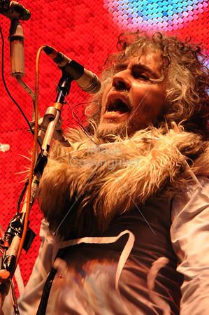 The Flaming Lips, Wayne Coyne, Party In The Park, Atlanta, GA. 2012