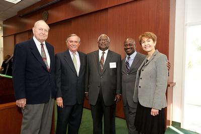 Judge Joseph W. Hatchett receives the 9th Annual William M. Hoeveler Award - April 7, 2010