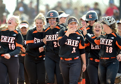Photos: Erie Defeats Holy Family in 4A Softball Semi Final